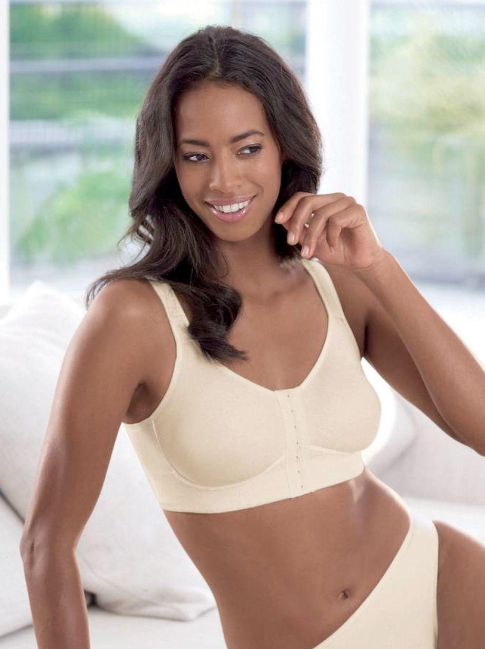 9bcbab1ffe Anita Care 5322X Salvia Wire-free Mastectomy Bra with front opening Promo