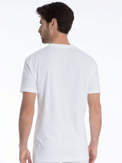Activity Cotton 14814 V-Shirt, bianco CALIDA