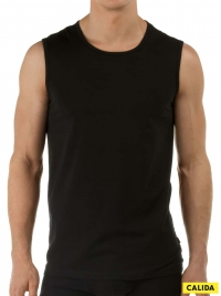 Activity Cotton 13314 Tank Top, nero