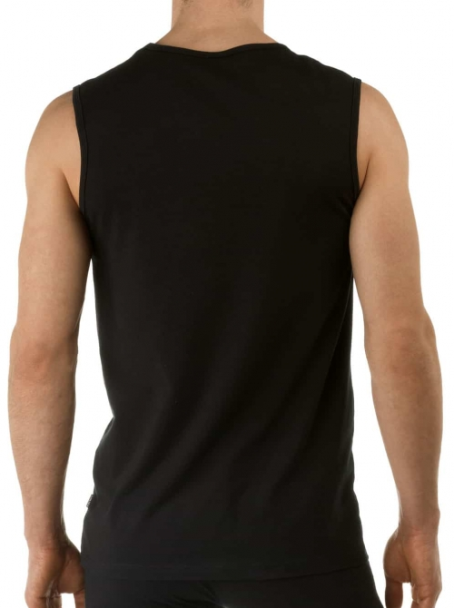 Activity Cotton 13314 Tank Top, nero CALIDA