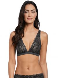 Lace Perfection Bralette, carbone