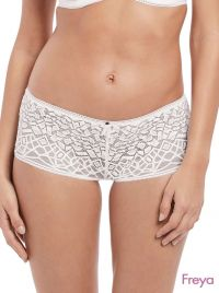 Soiree Lace short, bianco