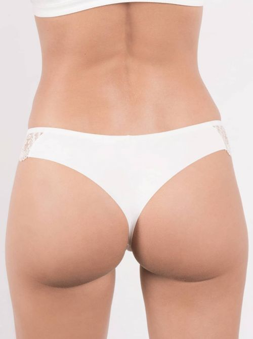 Tatoo brasilian brief, silk MAISONLEJABY