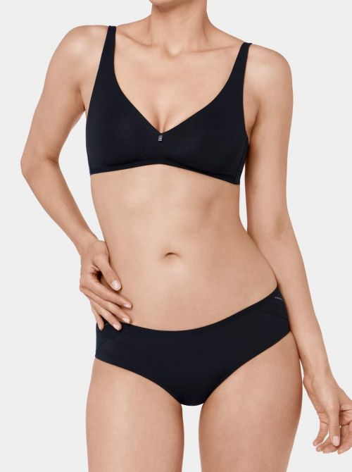 Body Make Up Cotton Touch N Reggiseno senza ferretto, nero TRIUMPH