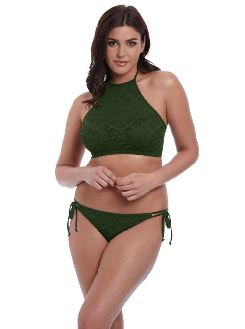 Sundance, Top per Bikini Hi-Neck Crop, Fern FREYA SWIM