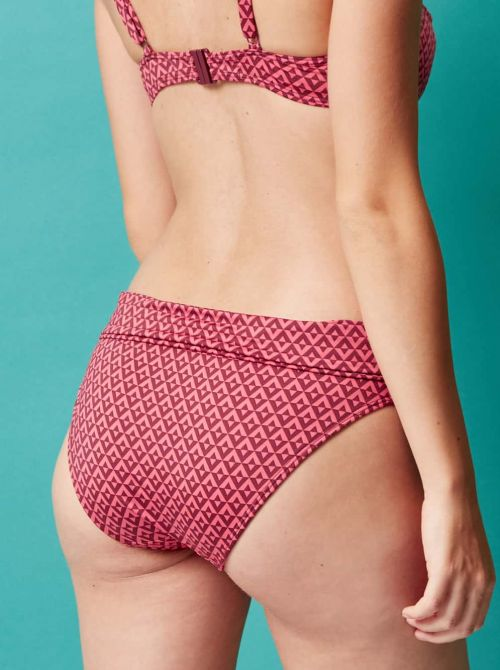 Illusion Coulotte per bikini, Terracotta SIMONE PERELE BEACHWEAR