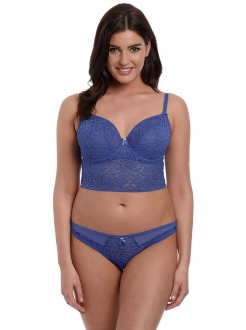 Soiree Lace  Bralette con ferretto, denim FREYA
