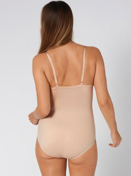 Body Make-up Soft Touch, body con ferretto, beige TRIUMPH