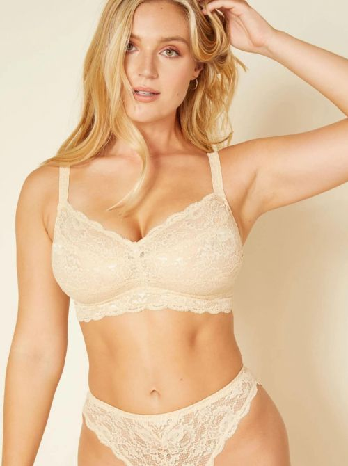 Never say never - Curvy Sweetie bralette, blush COSABELLA