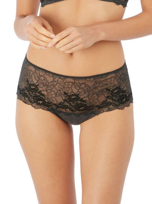 Lace Perfection shorty, carbone WACOAL
