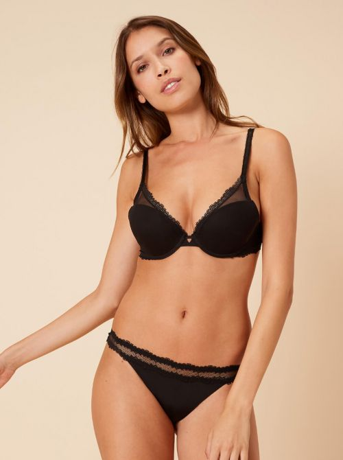 Confiance Push Up con ferretto, nero SIMONE PERELE