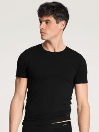 14290 Cotton Code T-shirt a mezza manica, nero