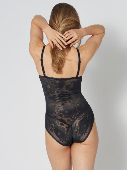 Wild Rose Sensation body con ferretto, nero TRIUMPH
