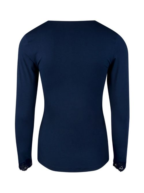 Simply Perfect Long sleeve t-shirt, blue ANTIGEL
