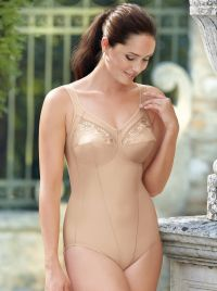 b3da8138b1db 3451 Safina - Comfort corselet with zip, black. 3448 Safina - Support  corselet, nude